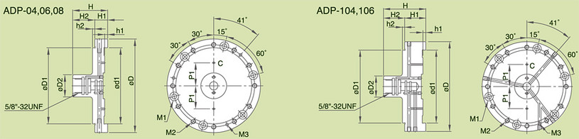 ADP - Mounting Plate Specifications