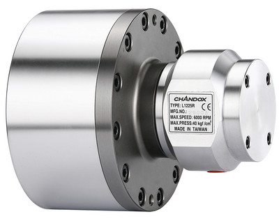 L-R - Solid Rotary Hydraulic Cylinders with built-In Check Valve