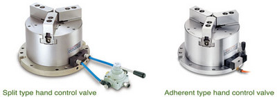 Examples Of Attaching Pneumatic Manual  Switch / Optional Accessories