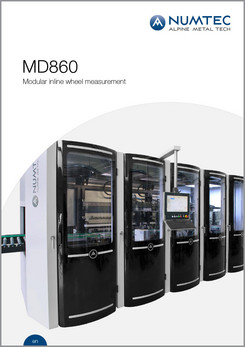 MD860 Modular Inline Wheel Measurement Brochure