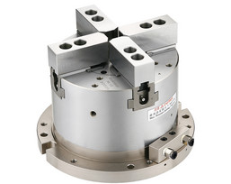 MA - 2 Actuating Axes Self-Centering Solid Air Chuck Fixtures