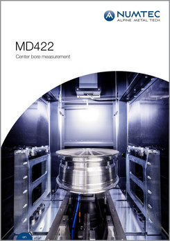 MD422 Center Bore Measurement Brochure