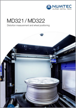 MD321/MD322 Distortion Measurement and Wheel Positioning Brochure
